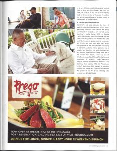 Dining Out Magazine page