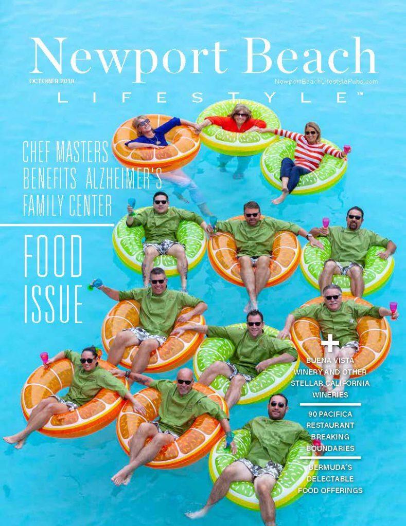 Newport Beach Lifestyle magazine cover